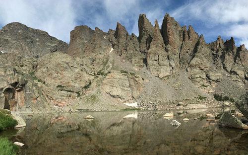 Sky Pond in Rocky Mountain National Park, Colorado