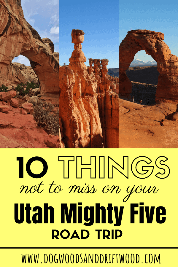 can't miss on your Utah Mighty 5 road trip [Zion, Bryce, Arches, Canyonlands