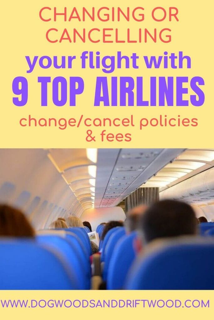 is it cheaper to cancel a flight or change it