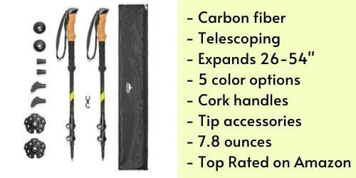 good budget carbon fiber trekking poles