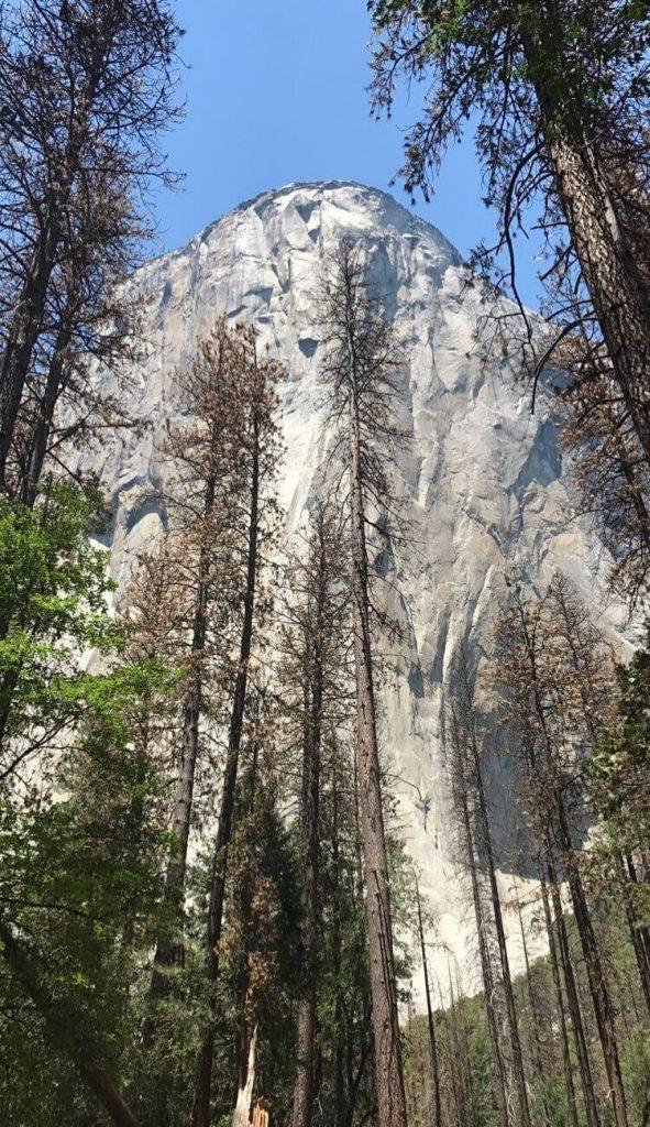 giant granite monolith