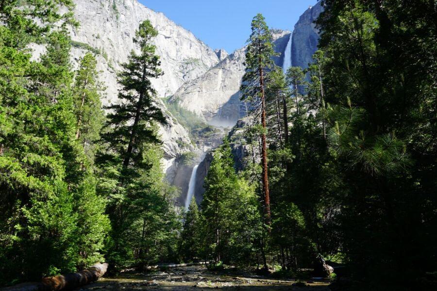 upper & lower yosemite waterfalls