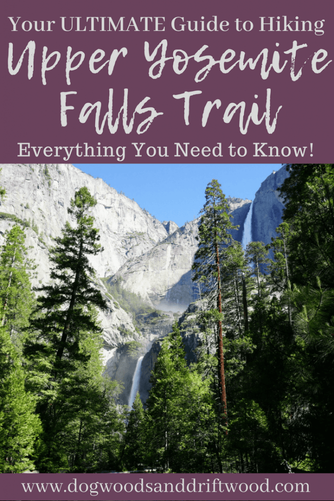 ultimate guide to hiking upper yosemite falls