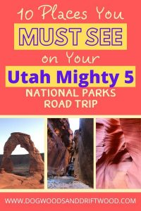 utah big 5 road trip, mighty 5 utah