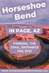info for visiting horseshoe bend