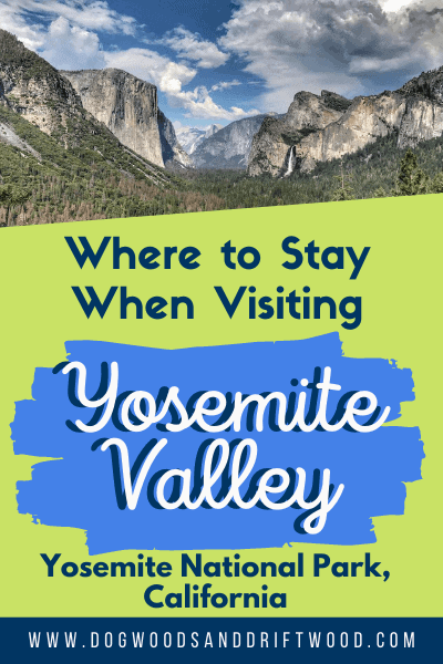 yosemite valley places to stay