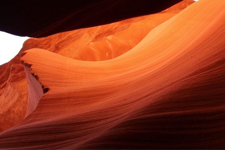 orange canyon wall