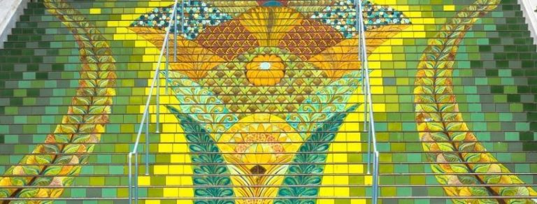 3 Places to See Tiled Steps in San Francisco