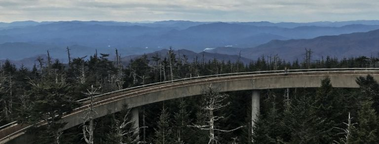 Hiking the Trail to Clingmans Dome