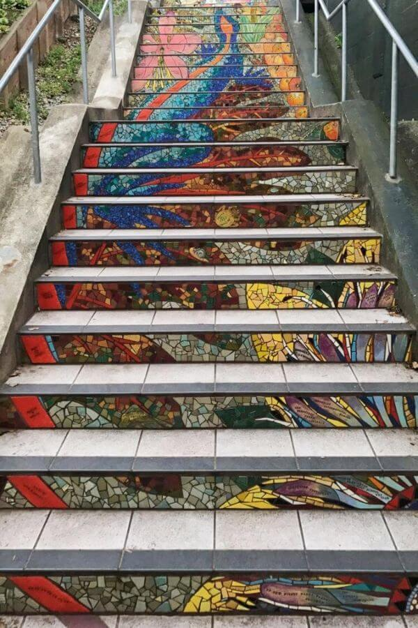 tiled steps in san francisco
